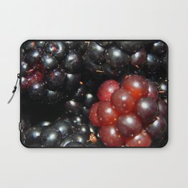 Blackberries berry still life and texture composition Laptop Sleeve