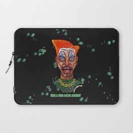 She Took Money From a Clown Laptop Sleeve