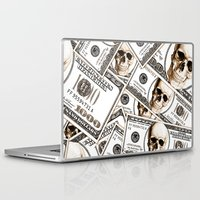 hiphop Laptop & iPad Skins featuring Thousand dollars by Burcu Korkmazyurek
