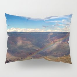 Grand Canyon National Park - Rainbow at South Rim Pillow Sham