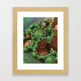Biomass Framed Art Print