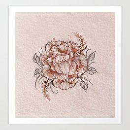 Floresilla Art Print