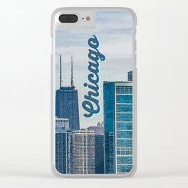 Chicago - The Windy City Clear iPhone Case