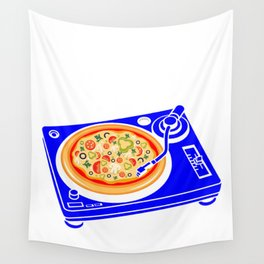 Pizza Scratch Wall Tapestry