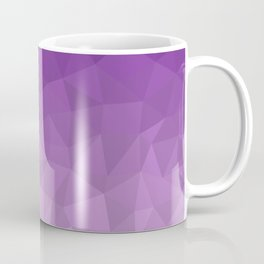 Purple Ombre - Flipped Coffee Mug