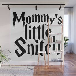 Mommys Little Snitch Wall Mural