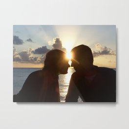 LOVE... the strongest connection Metal Print