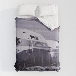 Panam Airplane Graveyard Comforters