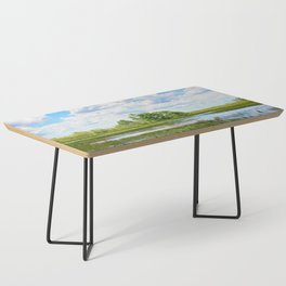 Everglades Reflections Coffee Table