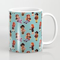 it crowd Mugs featuring IT Crowd by SIINS