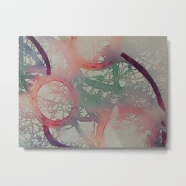 Dancing Rainbows Metal Print