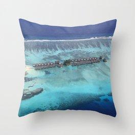 Maldives Throw Pillow
