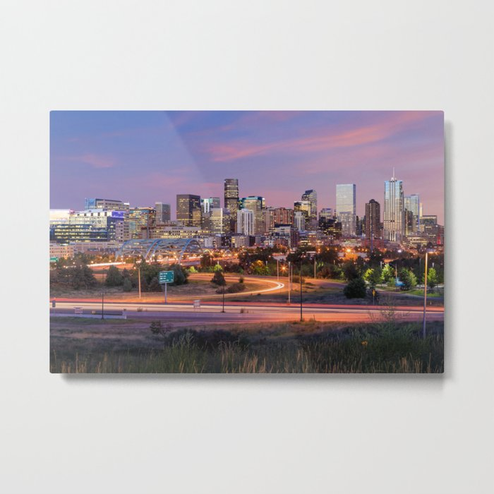 Denver - USA Metal Print