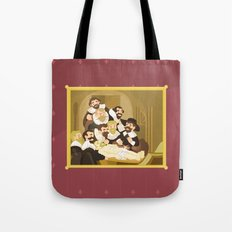 The Anatomy Lesson by Rembrandt Tote Bag
