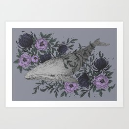 Dive II Art Print