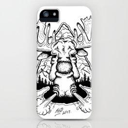 Moose & Arrow iPhone Case
