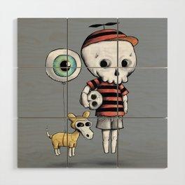 Skull Kid Wood Wall Art