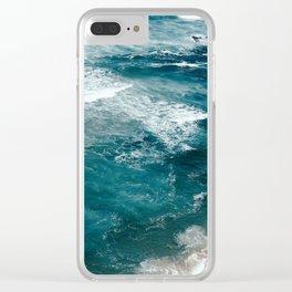Ocean 1 Clear iPhone Case