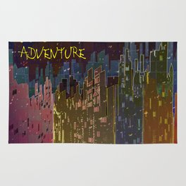 The Color Adventure in The Mistic Areas Rug