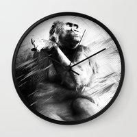 ape Wall Clocks featuring APE by A-HG
