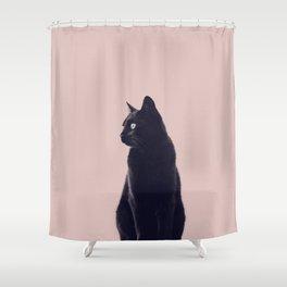HER MAJESTY (mauve) Shower Curtain