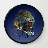 the who Wall Clocks featuring WHO by Emily