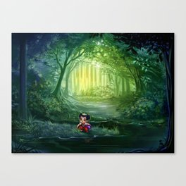 Eva's Talking Trees Canvas Print