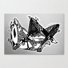 Avant que je m'ennuie - Emilie Record Canvas Print