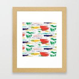 Citrusy Framed Art Print