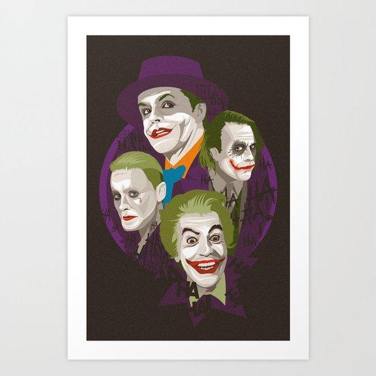 The Jokers Art Print