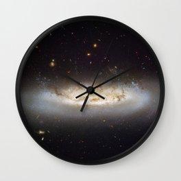 Galaxy NGC 4522 Wall Clock