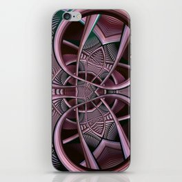 Mind-boggling, fractal abstract iPhone Skin