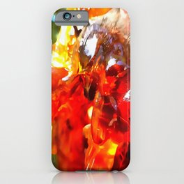 Apricot Resin Abstract iPhone Case