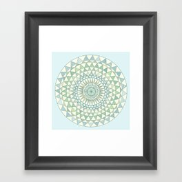 Doily Framed Art Print
