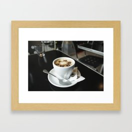 Cafe con leche Framed Art Print
