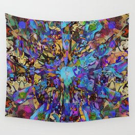 Purple Insanity Self-Expression Wall Tapestry