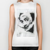 dali Biker Tanks featuring Dali by Hey Harriet