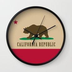 California Republic Wall Clock