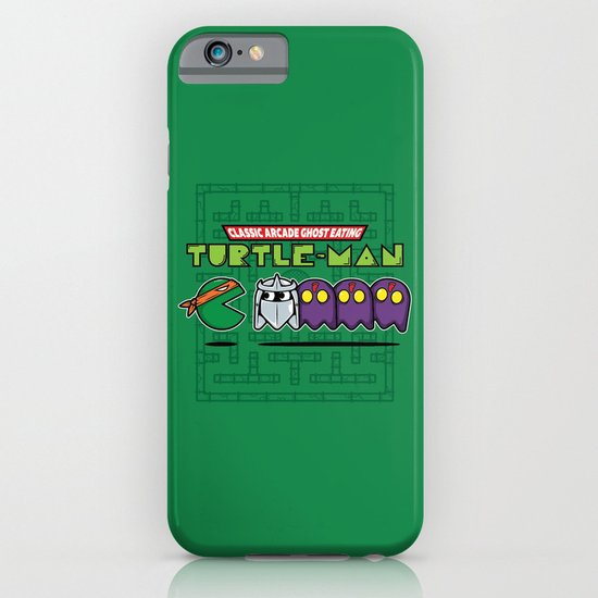 Hero in a Pac-Shell (Mikey) iPhone & iPod Case