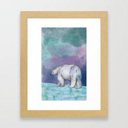 North Pole Framed Art Print