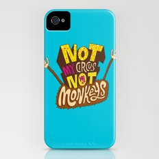Not My Circus, Not My Monkeys iPhone (4, 4s) Slim Case