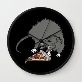 Pizza Lover Wall Clock