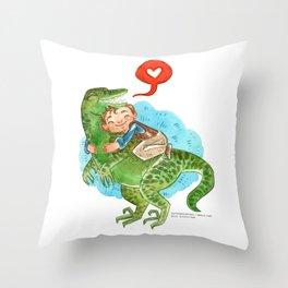 Jurassic World Hug Throw Pillow