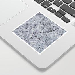 Snowy Branches Sticker