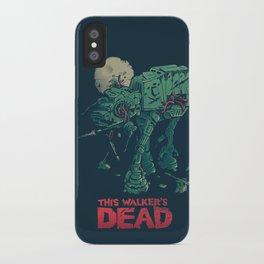 Walker's Dead iPhone Case