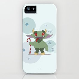 Krampus iPhone Case