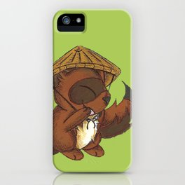 Tanuki Trickster iPhone Case