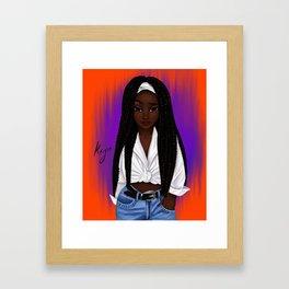 poetic Framed Art Print