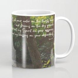 Isaiah 44 3 II #bibleverse #scripture Coffee Mug
