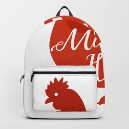Mama Hen Chicken Mom Poultry Love Mothers Day Gifts Backpack